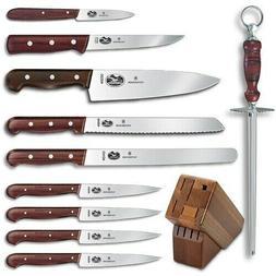 Victorinox / Forschner 46153 11 Piece Rosewood Knife Block S