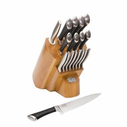 Chicago Cutlery Fusion KNIFE BLOCK SET KITCHEN KNIVES Stainl
