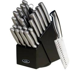 Gibson Baldwyn 22 Piece Knife Set, Black - 100% BRAND NEW