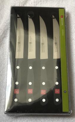 WUSTHOF GOURMET 4 PIECE STEAK KNIFE SET BRAND NEW IN BOX