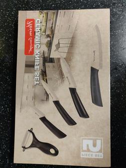 "HEIM's Cutlery Ceramic Home Kitchen Knife Set 3""4""5""6"" Knive"