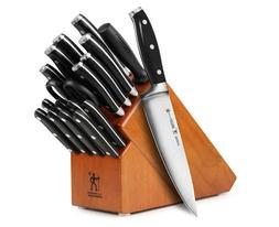 J.A. Henckels International Forged Premio 19-piece Knife Set