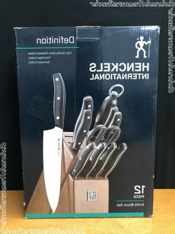 J.A. Henckels International 19480-012 Definition Knife Block