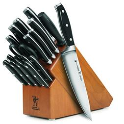 J.A. Henckels International Forged Premio 19-piece Knife Set