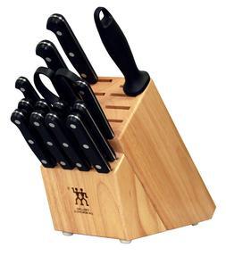 NEW Zwilling JA Henckels Twin Gourmet 15-Piece Block Set 352