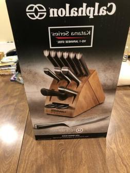 Calphalon Katana Cutlery 14-Piece Knife Set 14-pc NEW