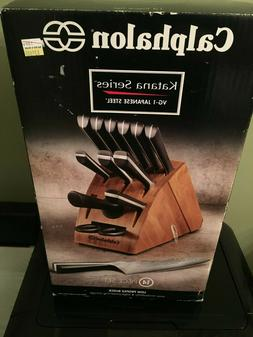 Calphalon Katana Series 14-Piece Cutlery Knife Block Set Mod