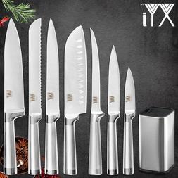 XYj Kitchen 8pcs Stainless Steel <font><b>Knives</b></font>