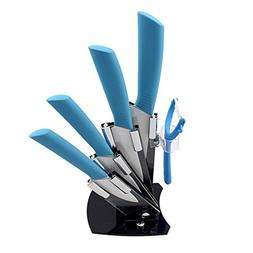 CiCiDi Kitchen Knife Set Ceramic Knife Set 6 Piece with Frui