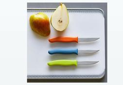 Pampered Chef Kitchen Paring Knife Set NIP 3 *QUICK SHIP