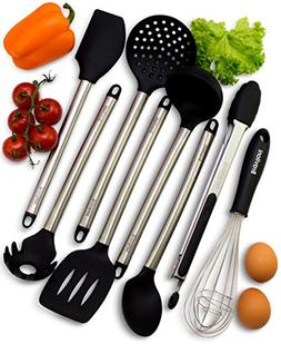 Kitchen Utensils - 8 Piece Cooking Utensils - Nonstick Utens