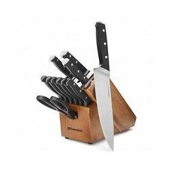 Calphalon Knife Block Set Cutlery Self Sharpening Piece 12 W