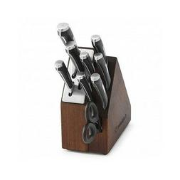 Calphalon Knife Block Set Cutlery Self Sharpening Piece 10 W