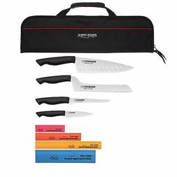 Ergo Chef 9 Piece Chef Knife Set with Knife Carrying bag
