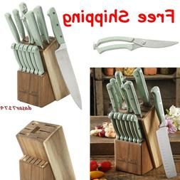 knife set 14 piece kitchen knife set