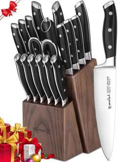 knife set 18 piece kitchen knife set