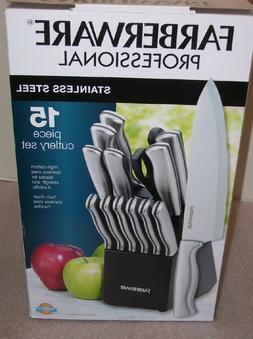 Farberware Knife Set - Stainless Steel Cutlery with Scissors