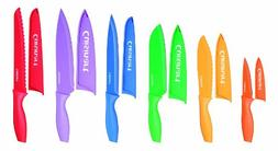 Cuisinart 12-Piece Colour Knife Set with Matching Blade Guar