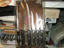 KNIFE SET w/o CUTTING BOARD NRFB -LHS - 7 Piece German Style