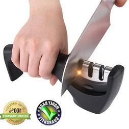 Kitchen knife sharpner set steel diamond,ceramic sharpeners