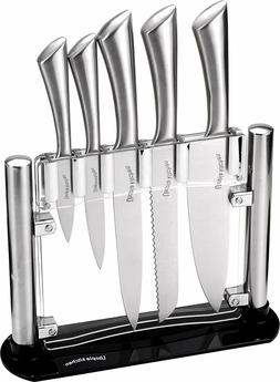 Utopia Kitchen Knives Kitchen Set with Block - Fast Delivery