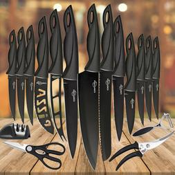 Knives Set Stainless Steel 18 Piece Cutlery Professional Kit