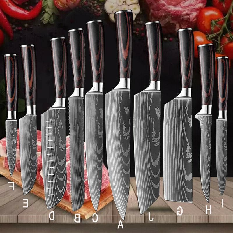 12 Knives +Accessories Knives Cooking Cutter
