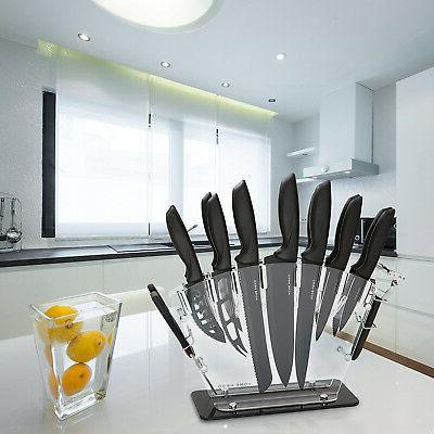 13-Piece Kitchen Knife Set Cutlery Blade