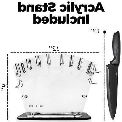 13-Piece Cooking Set Cutlery Blade Steel