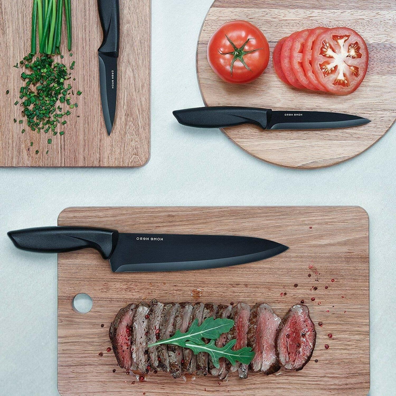 13-Piece Set Sharp Knives Cutlery Blade Steel
