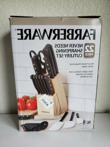 15 piece artiste collection cutlery knife block