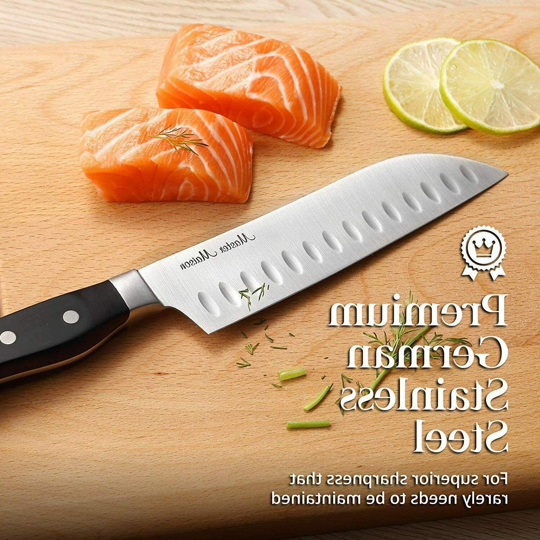 19-Piece Kitchen Knife Set