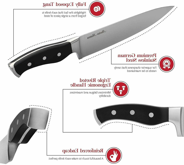 19-Piece Premium Kitchen Knife Set With