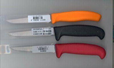 3 piece colored handle poultry boning filet
