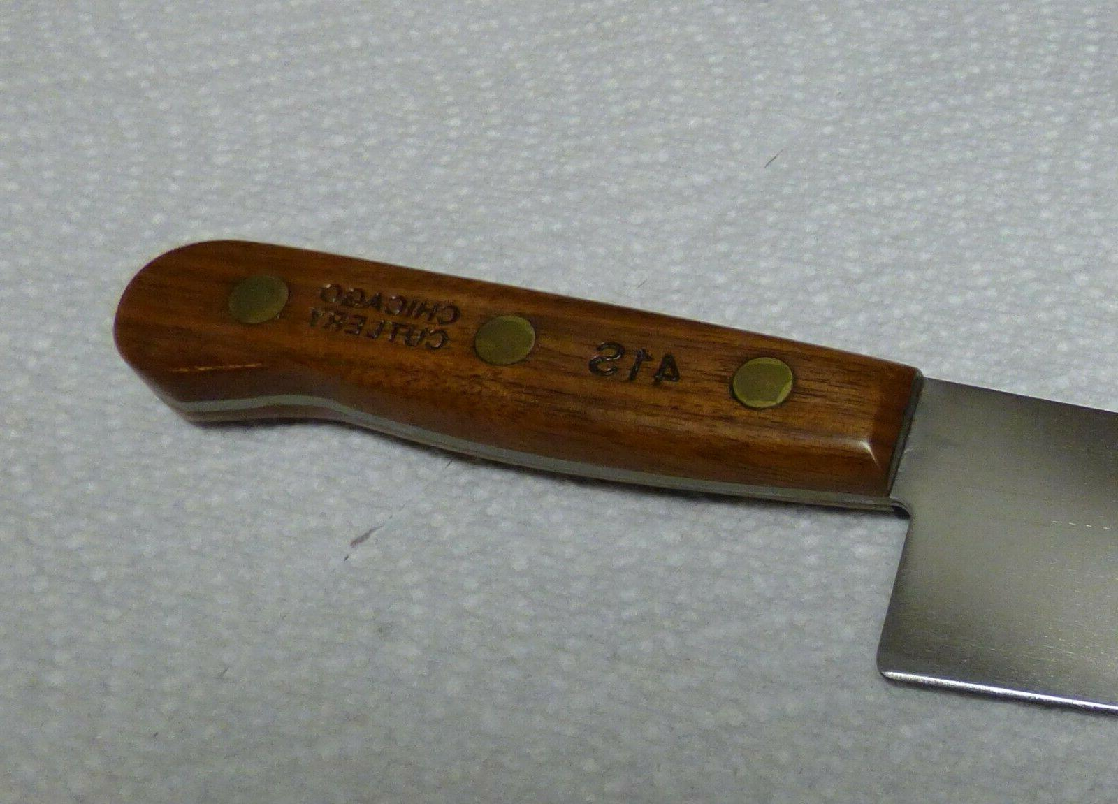Chicago Cutlery 41S Chef Finished Walnut NOS
