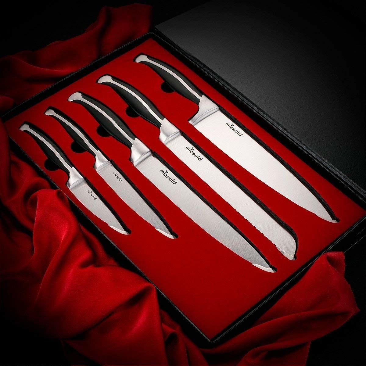 Bluesim High Knife Set -