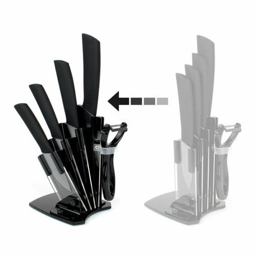5 Knife Set Kitchen Knife Block