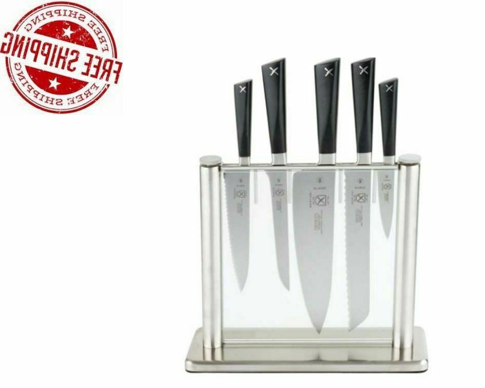 6 piece professional culinary forged kitchen knife
