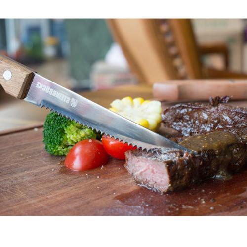 6 Steak Serrated German