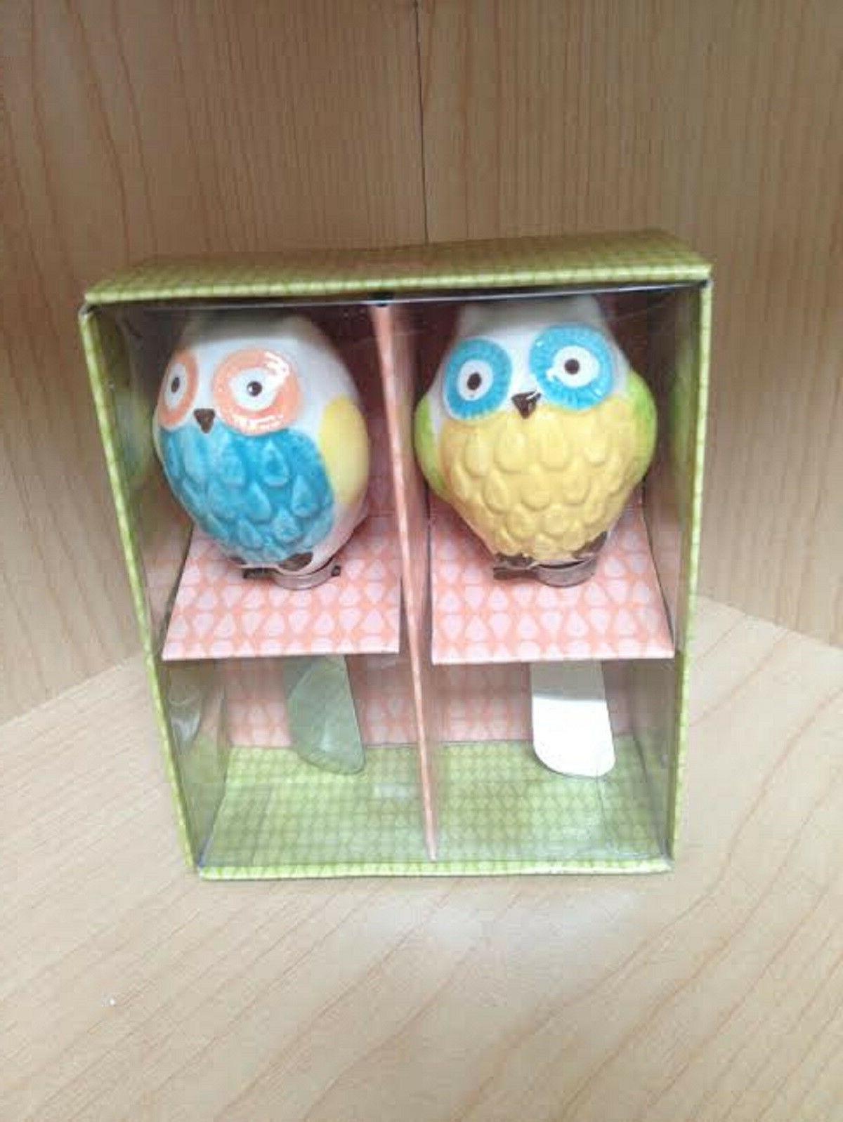 62448 Floral Owl Spreader Set/2  Kitchen Gadgets Appetizer U
