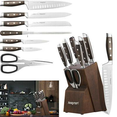 8 piece sharp stainless steel kitchen knife