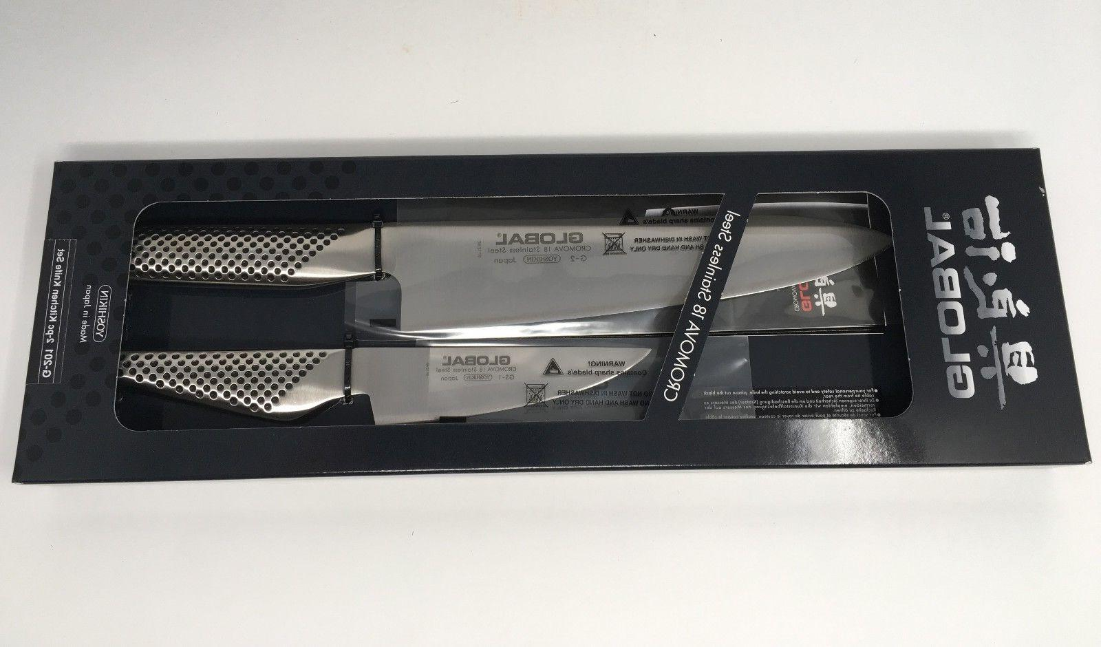Global 2-pc & Paring Knife