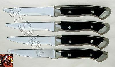 Longhorn Steakhouse Knives 4 Kitchen Dining New