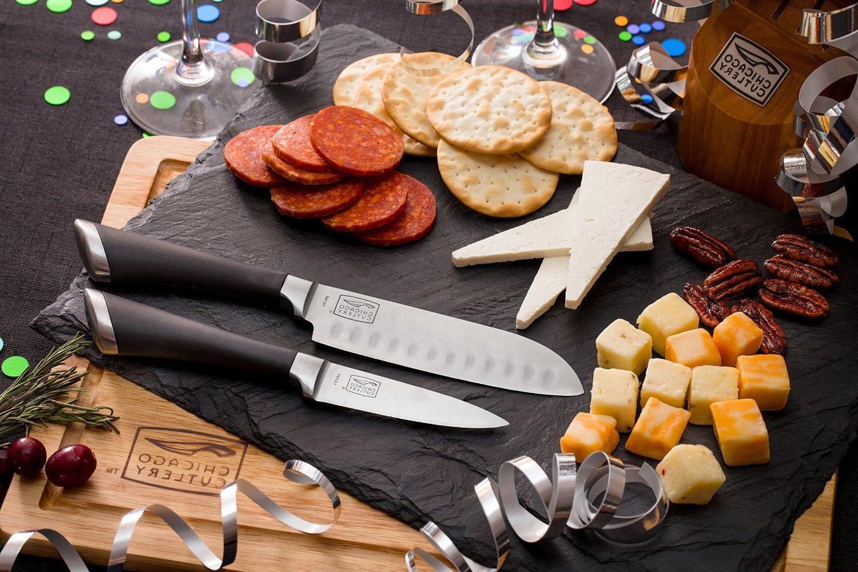 Chicago Cutlery High-Carbon Block Set