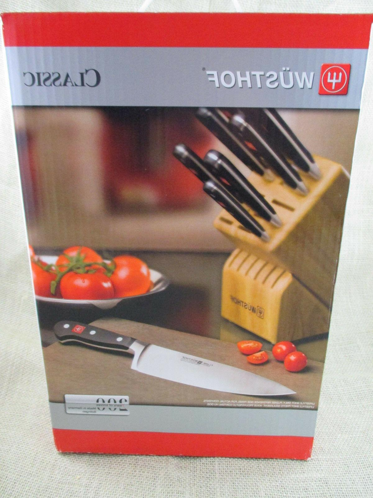 WUSTHOF Classic 7 piece Knife Block Set - 7417-2 - with pull
