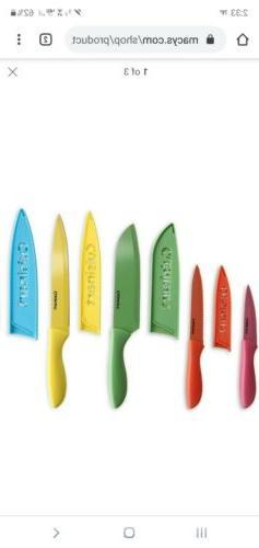 Cuisinart Advantage 10 Piece Ceramic Coated Knife Set w/ Bla