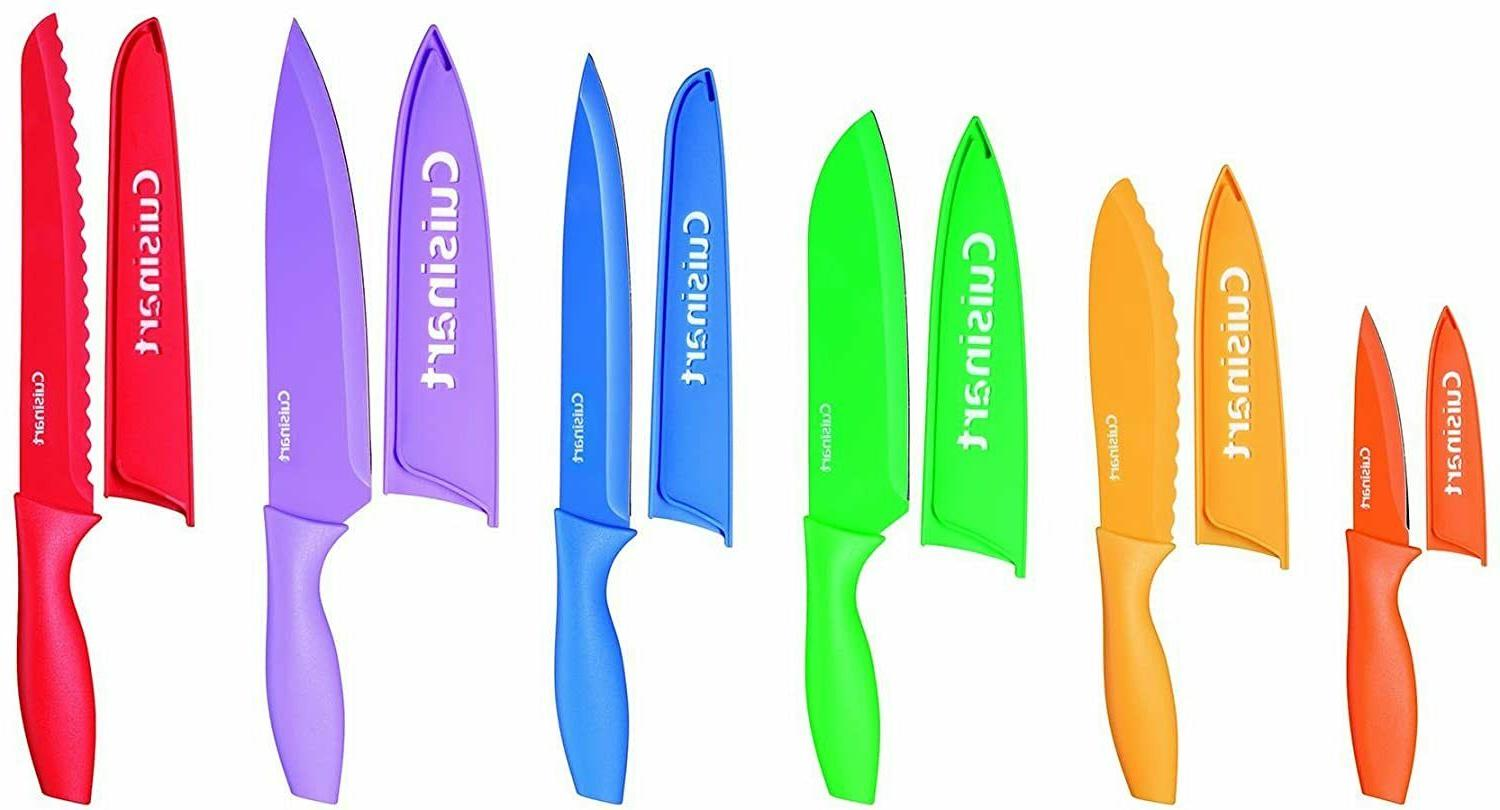Pampered Chef Knife Set With Knife Covers Magic Chef Knife S