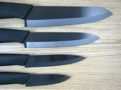 "Blade Sharp Ceramic Knife Set Chef's Kitchen Knives 3"" 4"" 5"""