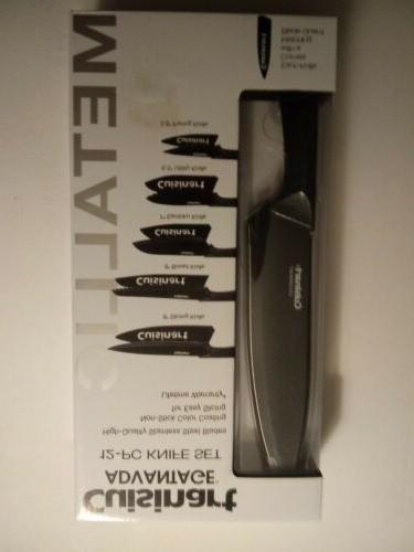 Cuisinart C55-12PMB Piece Metallic Set