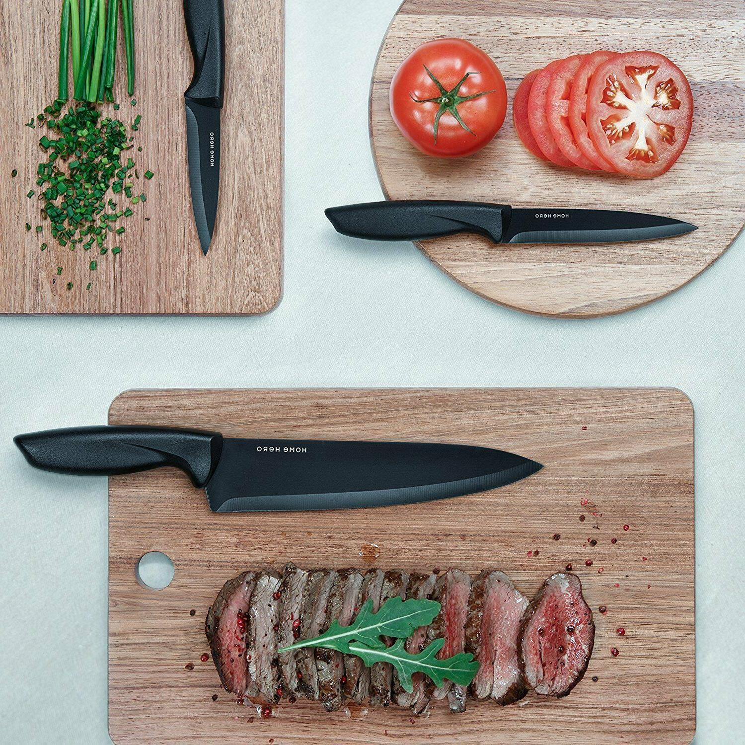 Chef Kitchen Piece Stainless Steel Cutlery Knives